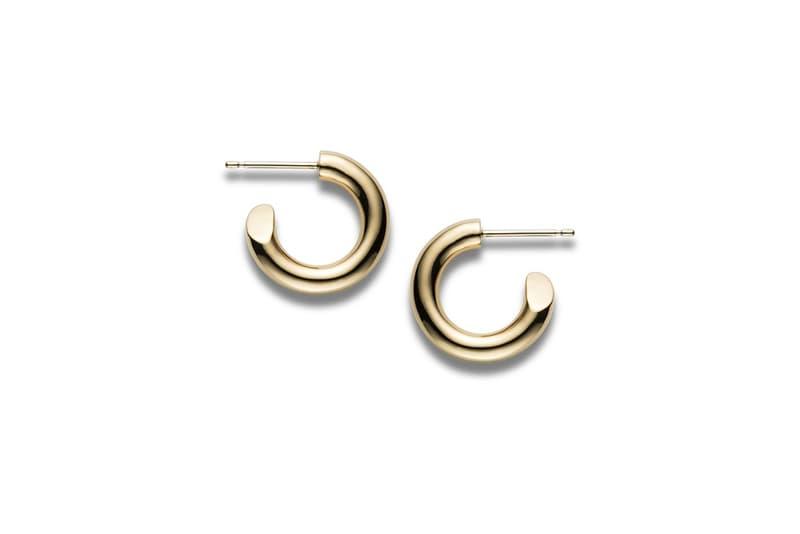 CAREERING Spring Summer 2018 Earrings Hoop Gold