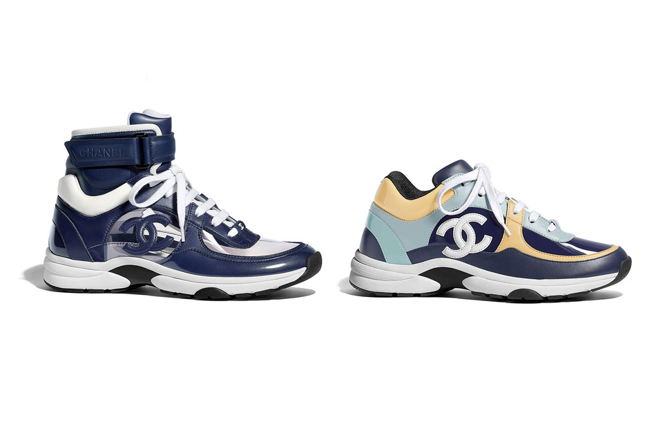 0cfd5d24c9f6 Chanel Spring Summer 2018 Sneaker Collection