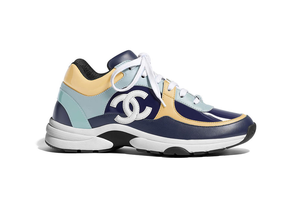 10fbca92c676 Chanel Spring Summer 2018 Sneaker Collection Colorways Release Price Where  to Buy Blue Yellow Black White