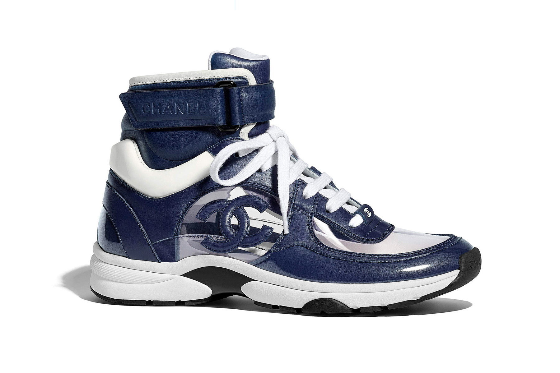 chanel trainers high top