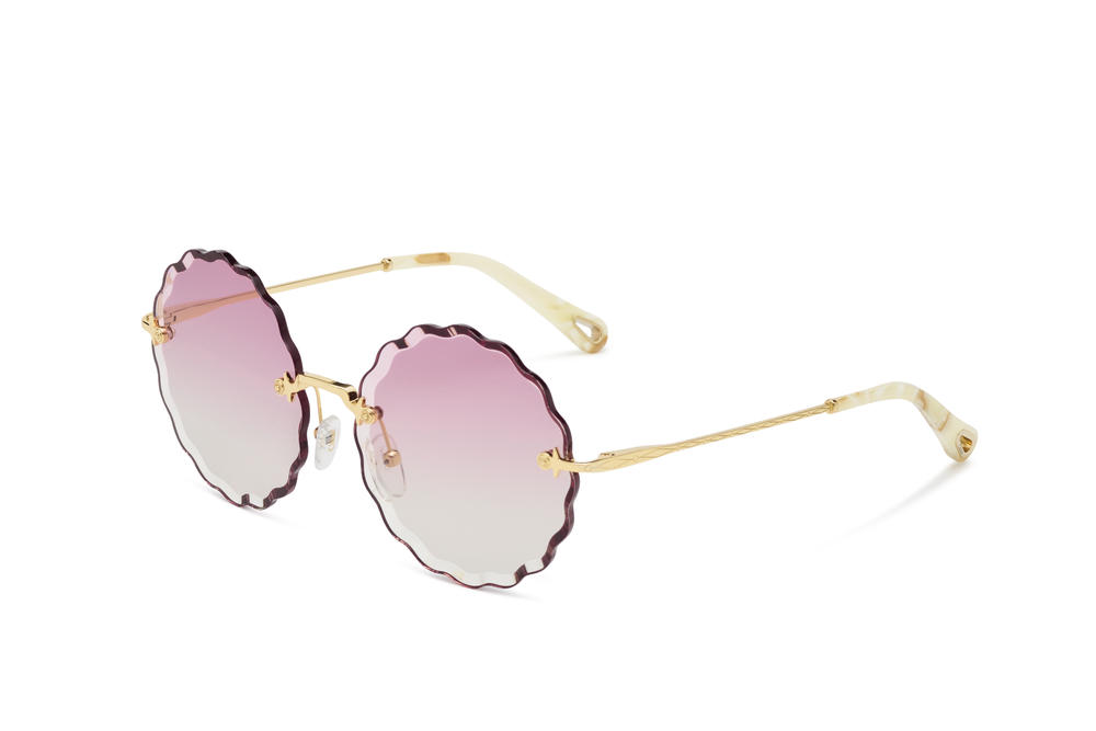 Chloé Rosie Sunglasses Spring/Summer Eyewear Shades Floral Tint Pink Blue Yellow Brown