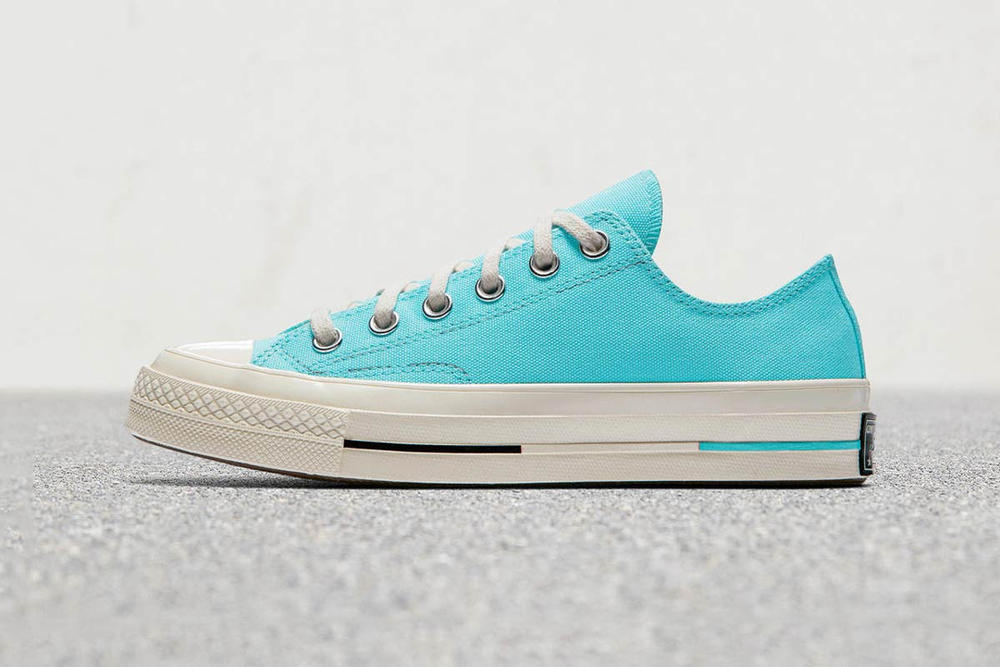 8a27058e65ec2a Converse Chuck Taylor All Star 70 Canvas Hi Low Crimson Pulse Bleached Aqua  Zitron Illusion Green