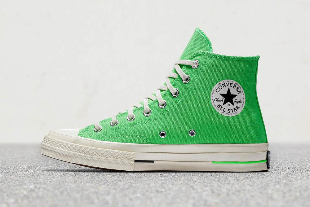 Converse Chuck Taylor All Star 70 Canvas Hi Low Crimson Pulse Bleached Aqua Zitron Illusion Green