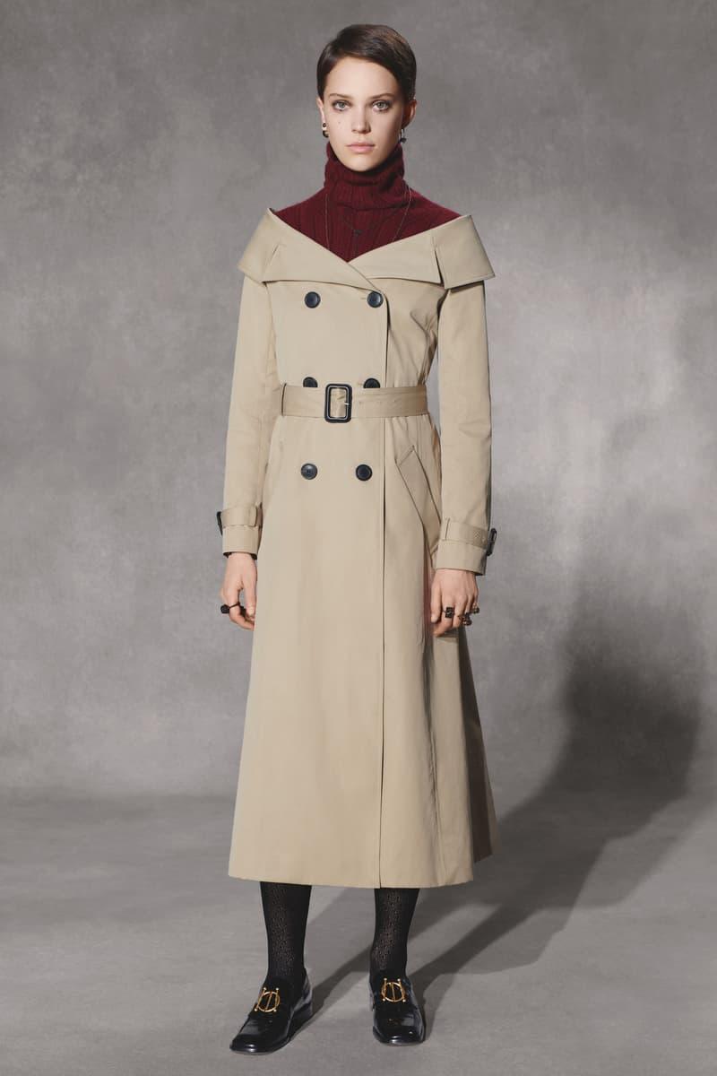 Dior Fall 2018 Collection Lookbook Raincoat Khaki