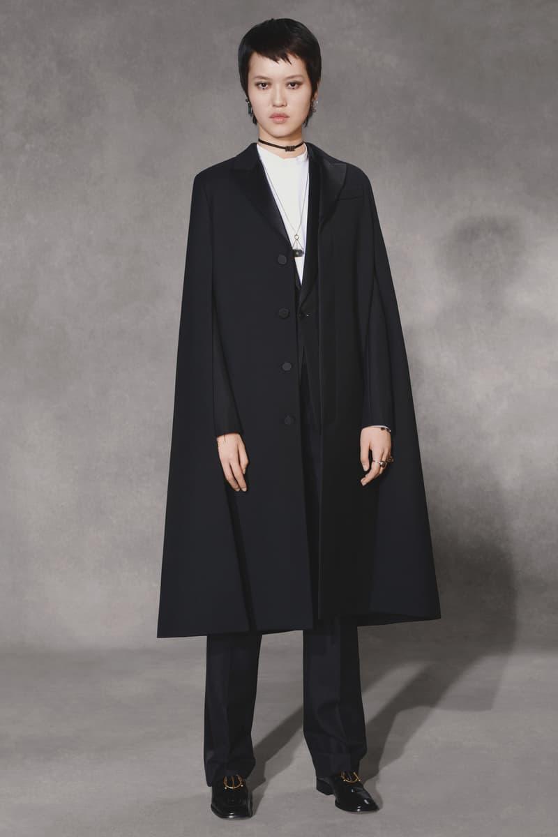 Dior Fall 2018 Collection Lookbook Oversized Blazer Black