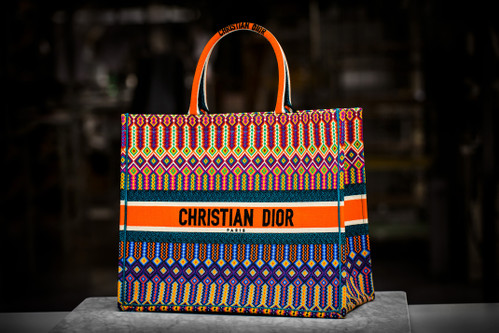 b14c8da5c5eb13 Dior's Embroidered Book Tote Is the Bag Every Celebrity Is Wearing This  Season
