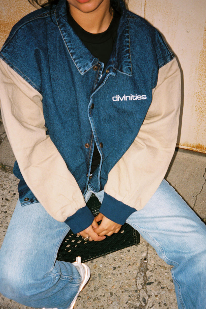 DIVINITIES Spring 2018 Lookbook Graphic Prints Lost in Translation Cast Away Patagonia Parody Color Pastel