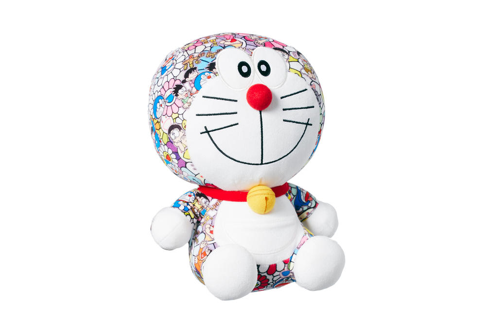 Doraemon Takashi Murakami Uniqlo UT T-Shirts Plush Toy Flower Price Release Date Information Where to Buy Women Men Japanese Artist Collaboration Collection