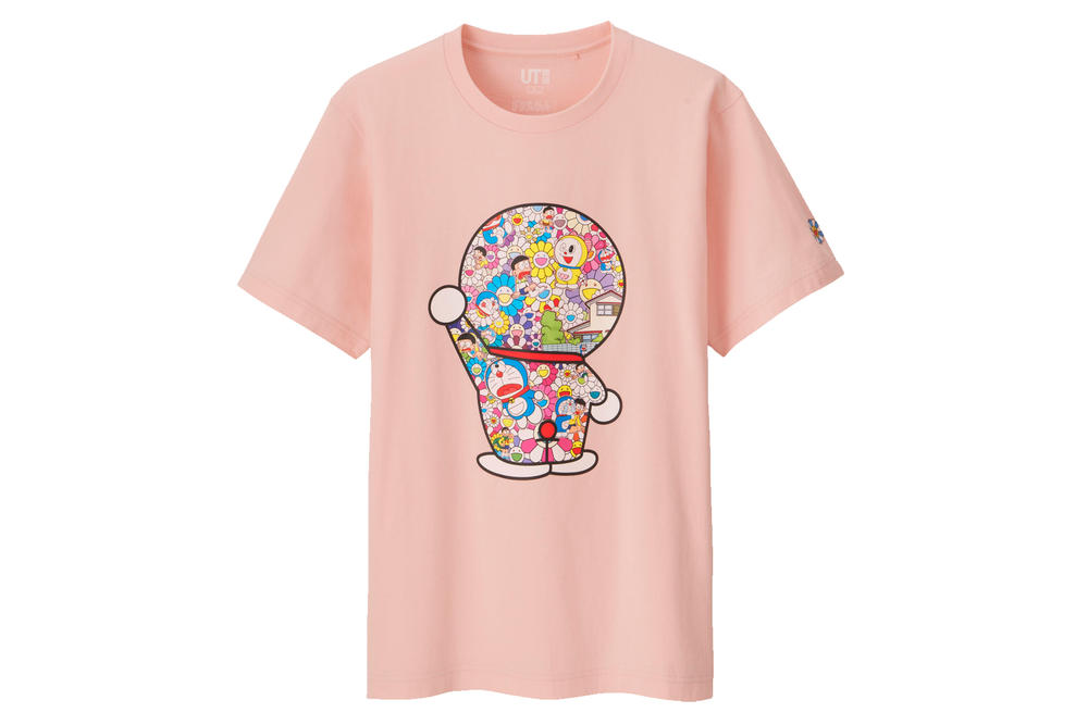 Doraemon Takashi Murakami Uniqlo UT Plush Toy Flower Price Release Date Information Where to Buy Women Men Japanese Artist Collaboration Collection