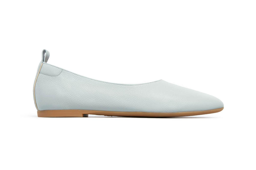 Everlane Day Glove Flats Light Blue