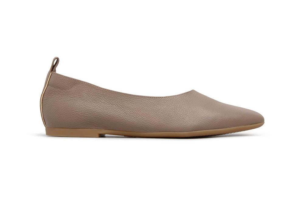 Everlane Day Glove Flats Mocha