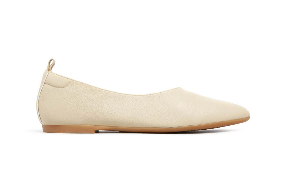 Everlane Day Glove Flats Cream