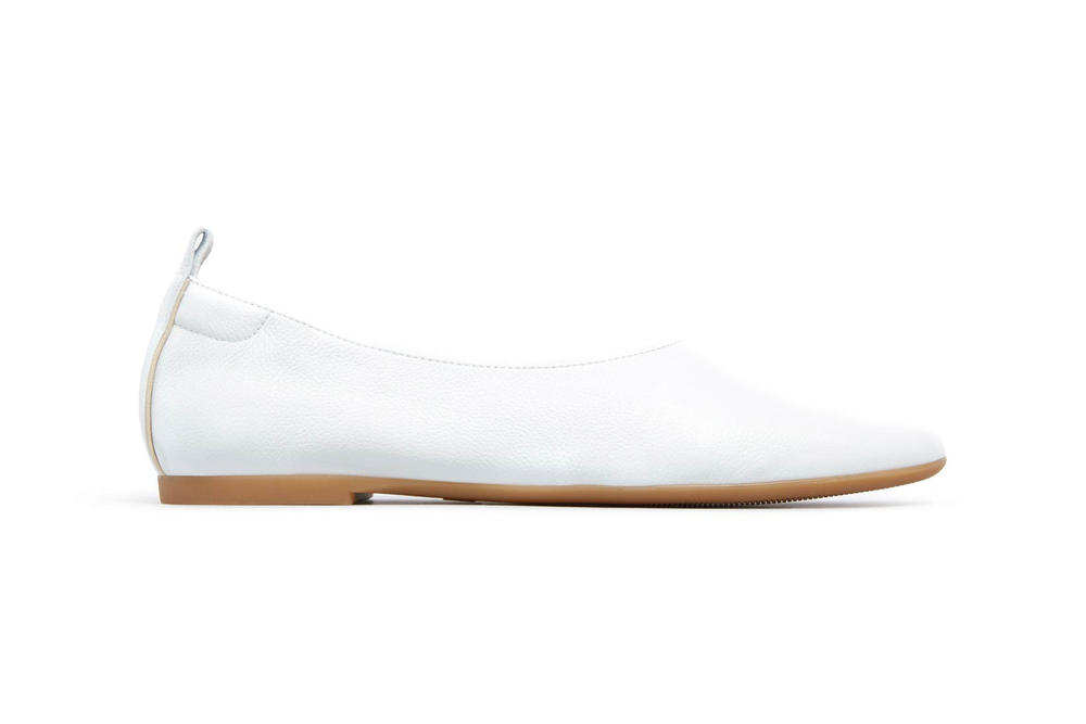 Everlane Day Glove Flats White