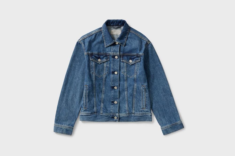 Everlane Denim Jacket Classic Blue Wash