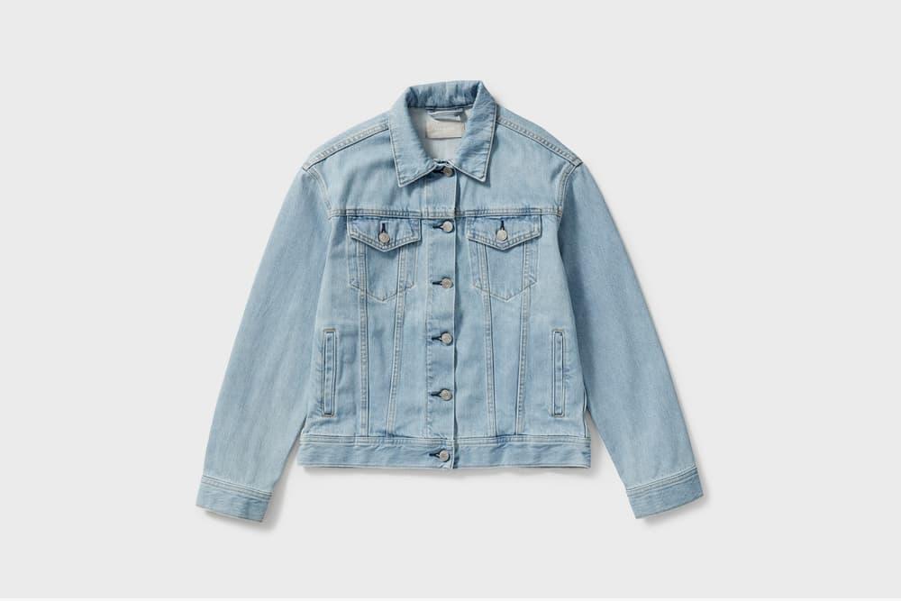 Everlane Denim Jacket Light Blue Wash