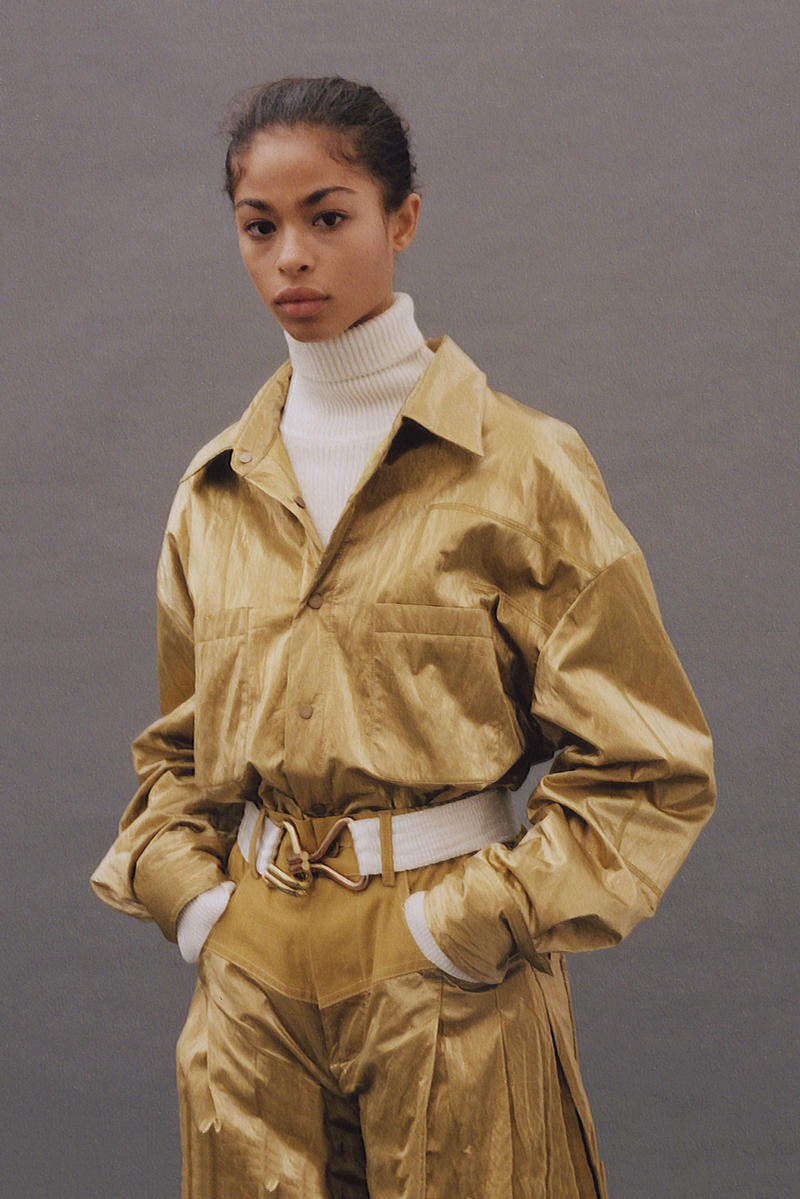 Feng Chen Wang Fall/Winter 2018 Collection Lookbook Jacket Pants Khaki