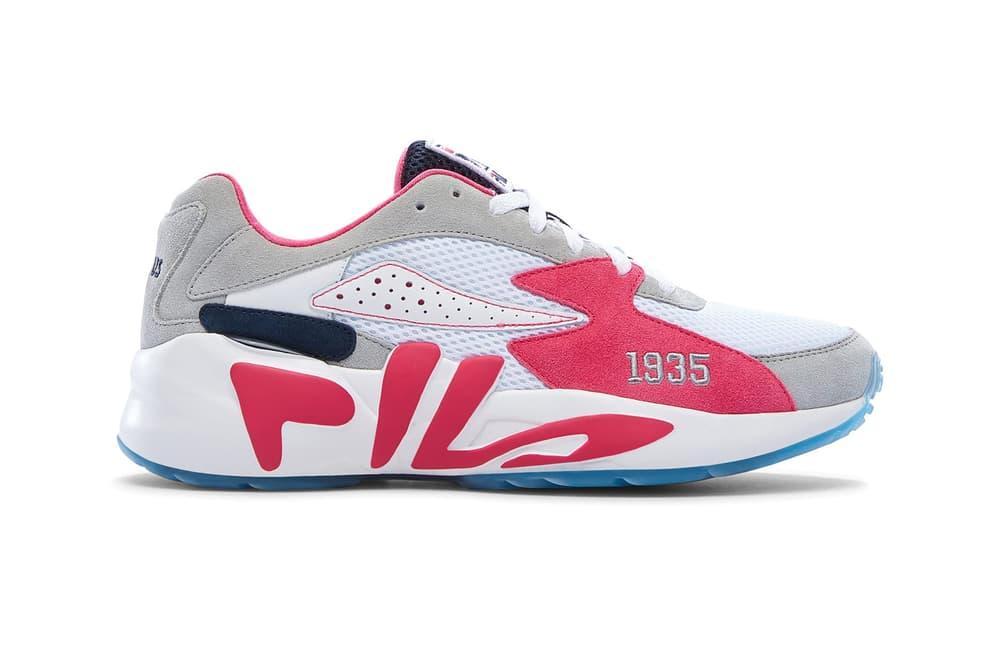 fila mindblower kinfolk 10 corso como kickslove pink dolphin sneaker lab collaboration dad shoe chunky