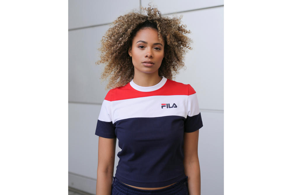 FILA Spring/Summer 2018 Logo Lookbook OnTheBlock Retro Chic Apparel FILA Streetwear