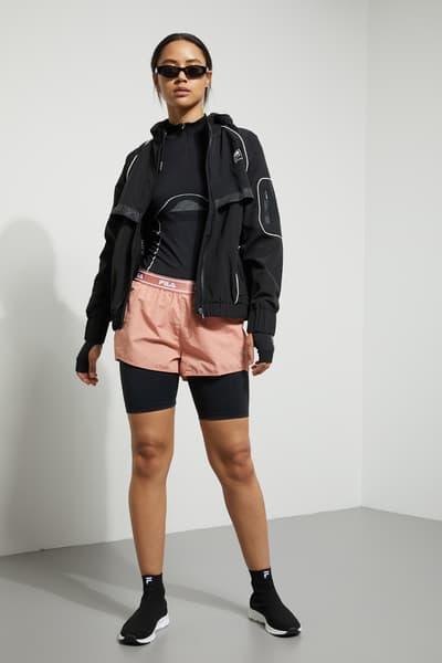 Weekday x FILA Collaboration Where to Buy women's jacket crop bra top leggings sneakers track pants hoodie