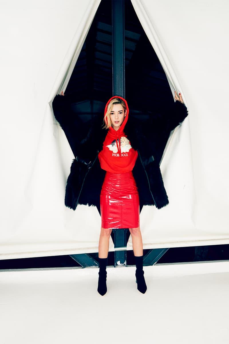 sarah snyder fiorucci fall winter 2018 lookbook angels vinyl hoodies