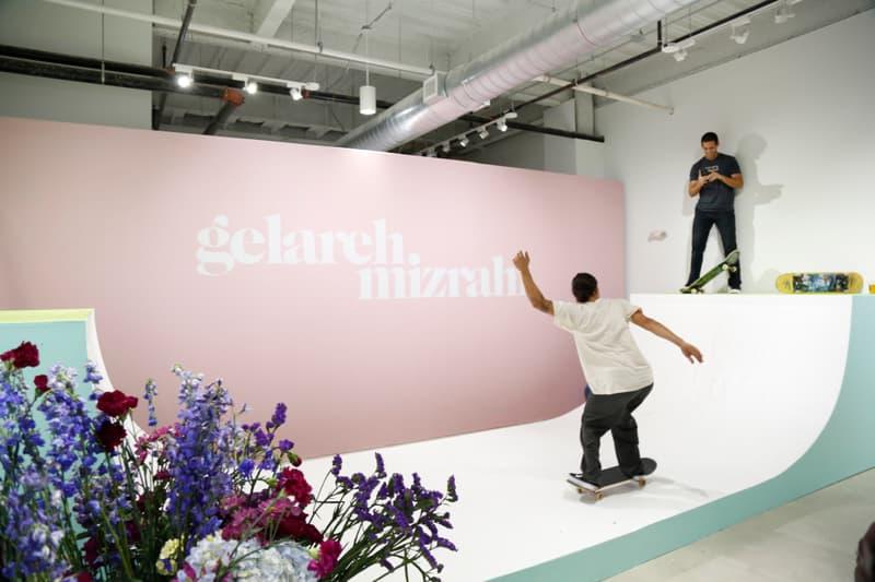 Gelareh Mizrahi Miami Design Week Pop-Up Store Skateboard Ramp Python Skin Designer Fashion Collection