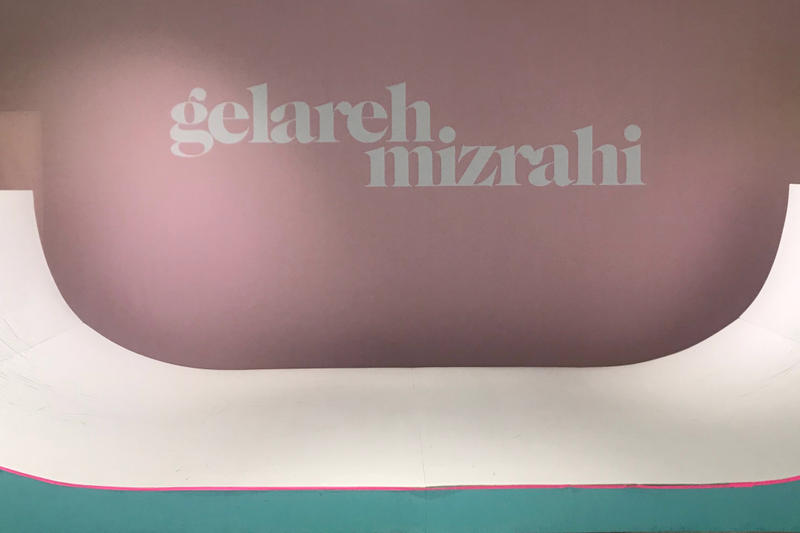 Gelareh Mizrahi Miami Design Week Pop-Up Store Skateboard Ramp Python Skin Designer Fashion Collection