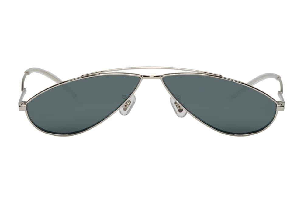 Gentle Monster Kujo Mini Sunglasses Teardrop Yellow Blue Pastel Light Silver Grey Where to Buy SSENSE