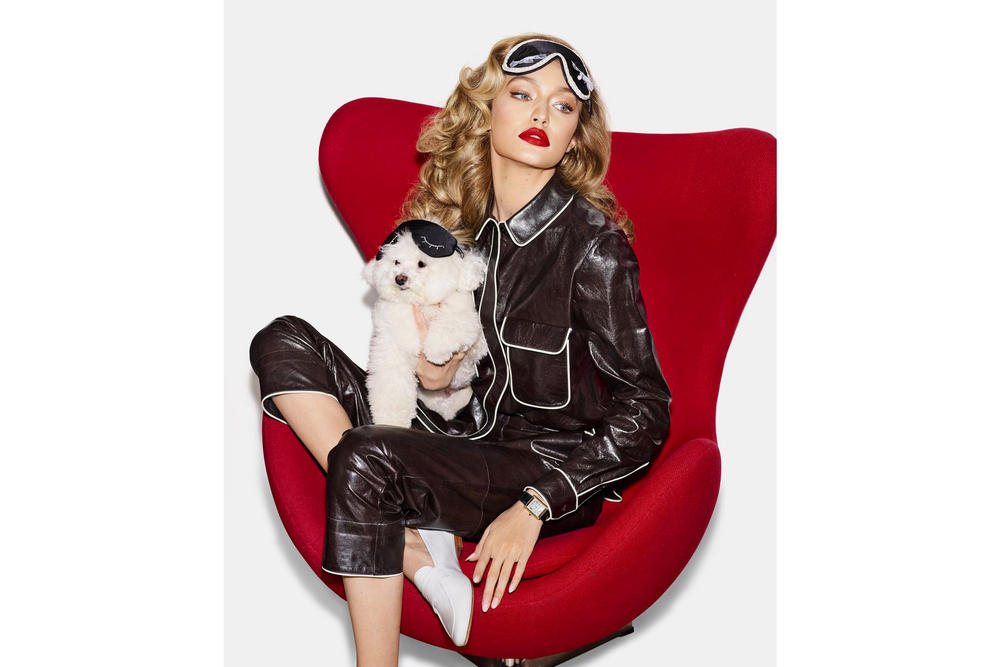 Gigi Hadid Harper's Bazaar May 2018 Issue Cover Editorial Magazine Dogs Puppies Interview Blake Lively Body Shamers Haters Instagram Social Media Trolls Woman Supporting