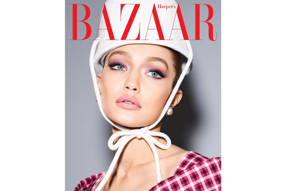 Gigi Hadid Harper's Bazaar May 2018 Issue Cover Editorial Magazine Interview Blake Lively