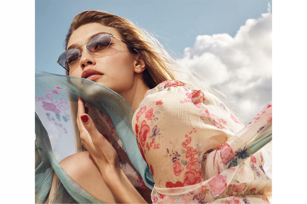 Gigi Hadid for Vogue Eyewear Drop Two Sunglasses Shades Accessories Campaign Spring Summer Drop