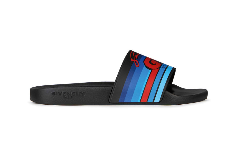 Givenchy Pre-Fall 2018 Motocross Slides