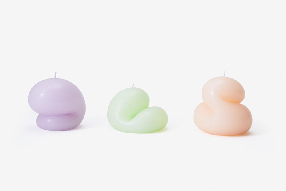 Goober Blob Candles Talbot and Yoon Cute Interior Design Decoration Decor Candle