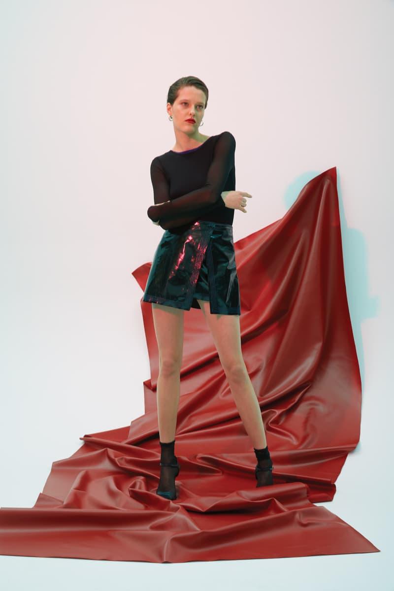 GRACE MA Top Skirt Black