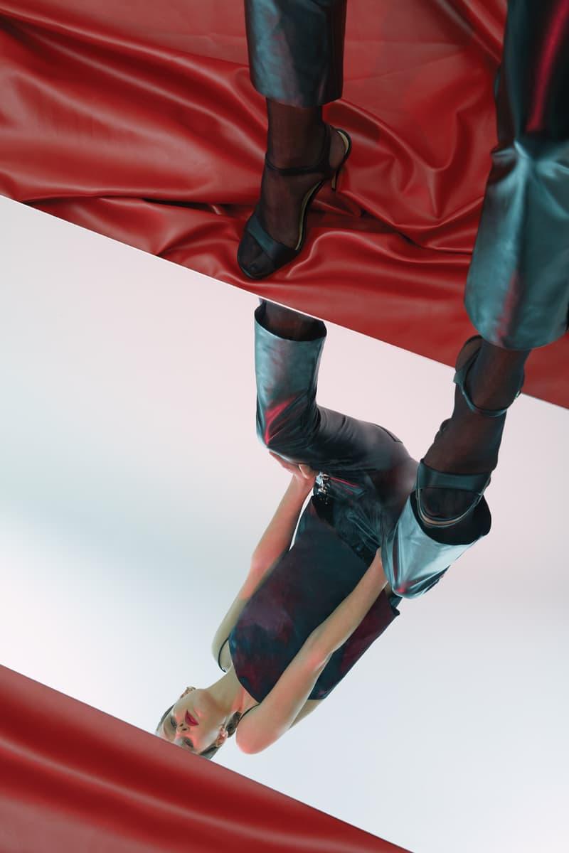 GRACE MA Leather Pants Black