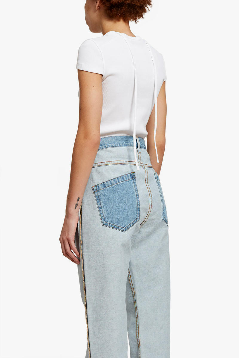 Helmut Lang Inside Out Denim Pants Deconstructed