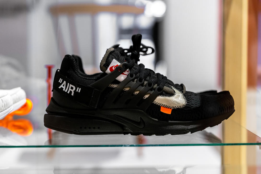 ikea virgil abloh off-white collaboration furniture home nike the ten sneaker Black