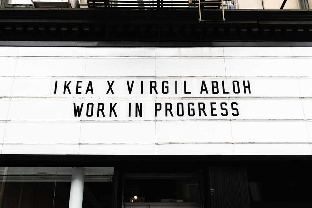 ikea virgil abloh off-white collaboration furniture home work in progress