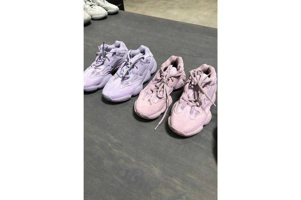 39c2e1a47ebfd Kanye West adidas Originals YEEZY Desert Rat 500 Pastel Pink Purple