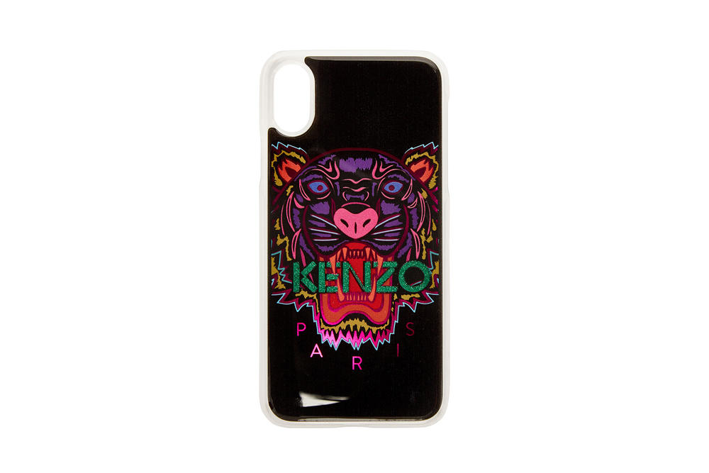 kenzo apple iphone x phone cases tiger limited edition ring holder purple orange green