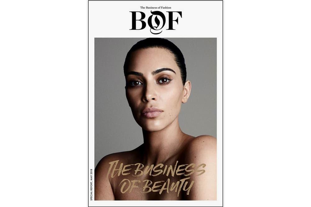 Kim Kardashian Business of Fashion May 2018 Cover