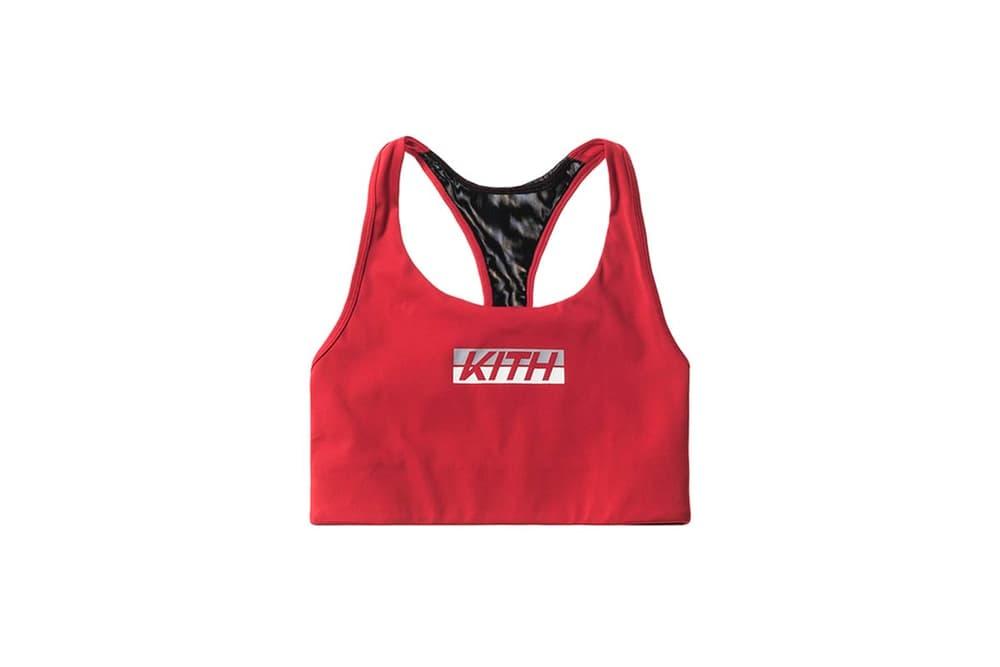 KITH Racing Women Sports Bra Red