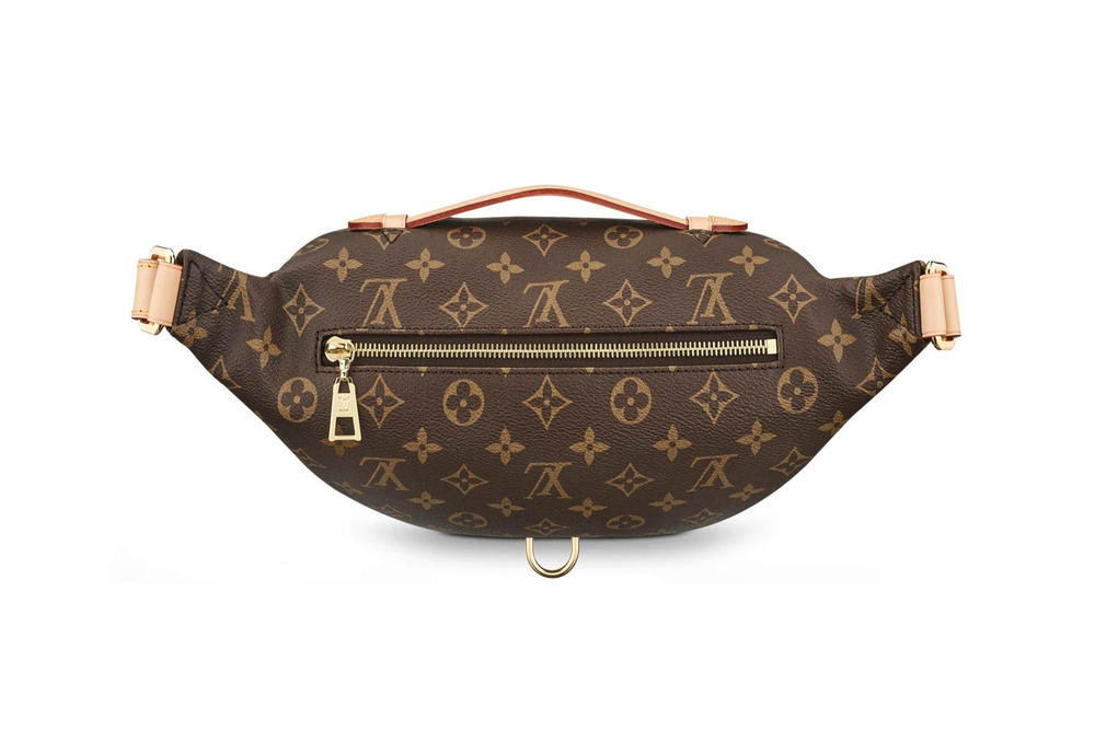 6de0068000fc Louis Vuitton Monogram Bum Bag Fanny Pack Brown