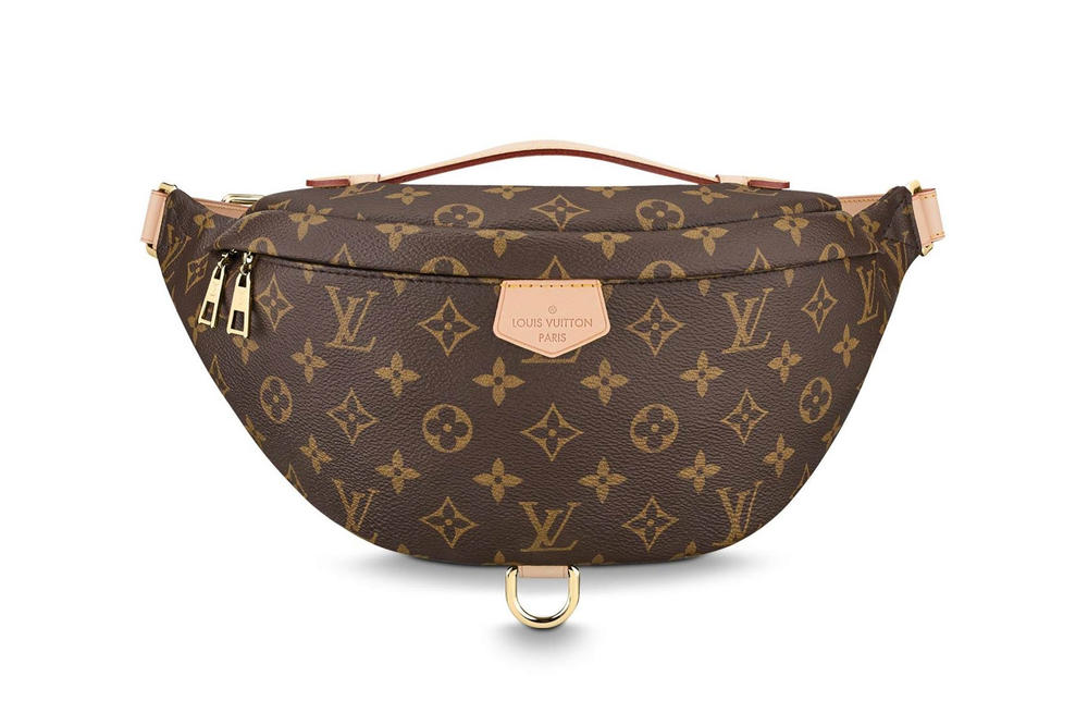 819688a73721 Louis Vuitton Monogram Bum Bag Fanny Pack Brown