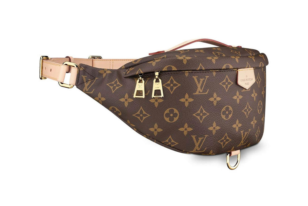 fb6ba2926c96 Louis Vuitton Monogram Bum Bag Fanny Pack Brown
