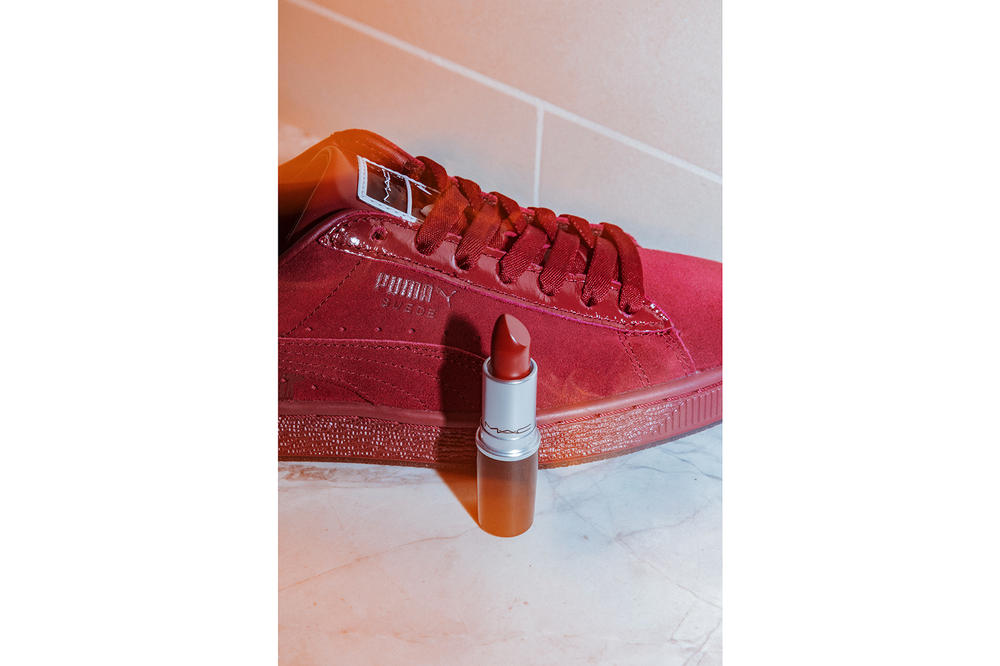 best loved 2df67 3f89d MAC and PUMA Lipstick-Inspired Suede 50 Pack | HYPEBAE