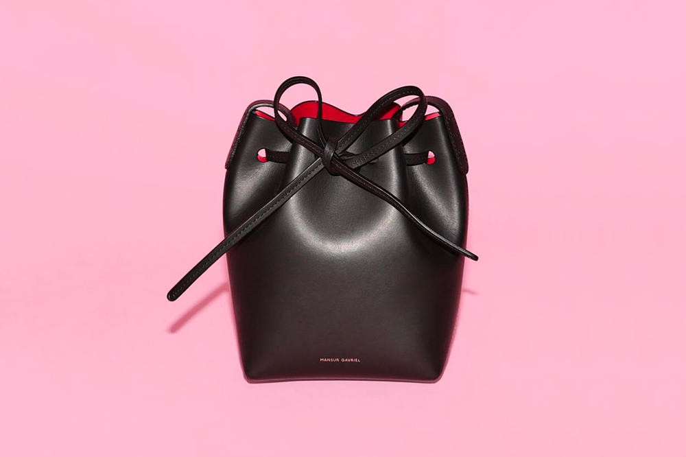 Mansur Gavriel Announces Sample Sale April 19-22 Bags Bucket Handbag Ready-to-Wear and Shoes New York City Store Address Hours Online Discount International Shipping Shoes Footwear Accessories