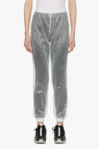 MISBHV Clear Transparent Trend Tracksuit Plastic See-Through PVC Clear