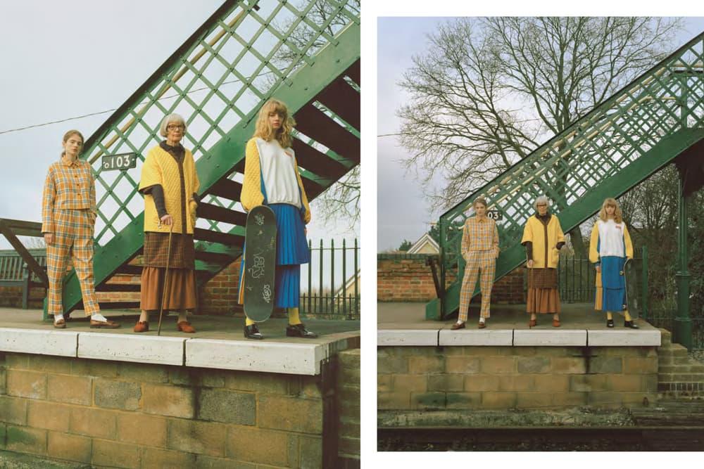 Neul Fall/Winter 2018 'City Girl' Lookbook Italian label