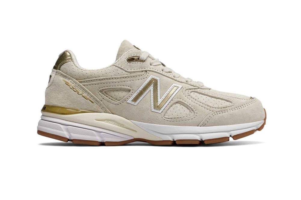 New Balance 990 v4 Angora