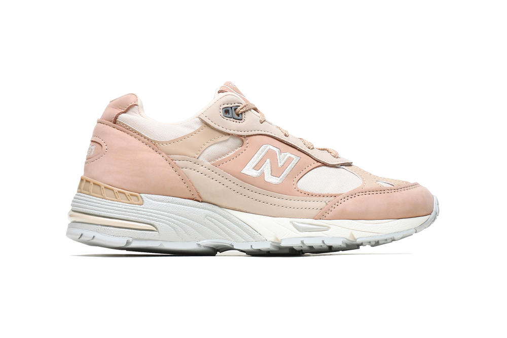 New Balance 991 991SSG Sand Grey Price Release NAKED Pink Pastel Chunky Dad Sneaker Shoe Millennial